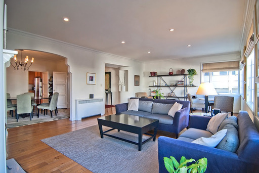Location: Pacific Heights, 4BR/3BA, $8,650/Mo